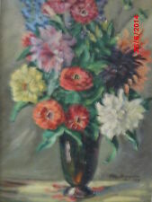1900-1949 Originalgemälde (1900-1949) mit Expressionismus auf Blume, Frucht & Pflanze