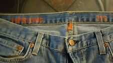 J. CREW WOMENS HIPSLUNG BOOTCUT STRETCH JEANS SIZE 31S