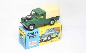Corgi 438 Land Rover 109 WB In Its Original Box - Near Mint Vintage Model 1960s