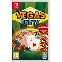 Vegas Party Nintendo Switch Game - Pre Order