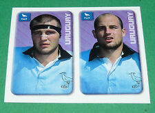 N°60 GRILLE - AGUIRRE URUGUAY MERLIN RUGBY IRB WORLD CUP 1999 PANINI COUPE MONDE