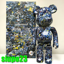 Medicom 1000% Bearbrick ~ Jackson Pollock Be@rbrick Water Print Version