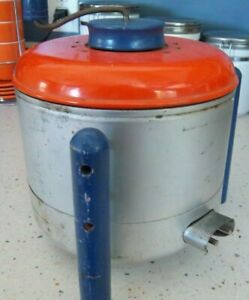 RARE Vintage JOLLY TIME Electric CORN POPPER Hand Crank W/Instructions