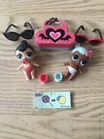 Lol surprise series 2 lil sugar & spice dolls L.O.L little sisters ultra rare
