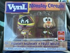 Monster Cereals Vynl. Yummy Mummy & Fruit Brute Exclusive Vinyl Figure 2-Pack LD