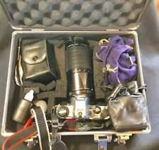 Pentax Super Program 35mm SLR Film Camera Case LENSES