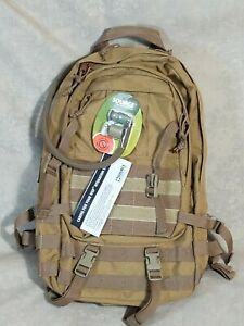 Source Assault 10 Liter Coyote Brown Cargo Hydration Back Pack Tactical MARSOC