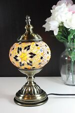 "Traditional Turkish Handmade Mosaic Table Desk Bedside Night Accent Lamp18"" Inch"