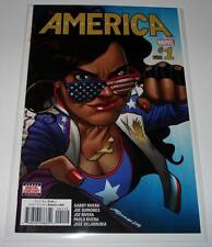 AMERICA # 1 Marvel Comic  June 2017  NM    2nd Printing VARIANT COVER EDITION