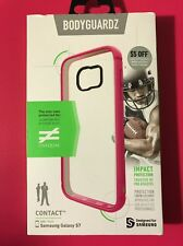 Bodyguardz Unequal Impact Protection Contact Case Galaxy S7 ( Clear / Pink )