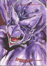 DRAGON MAN sketch card by DARREN CHANDLER Spider-Man Archives Rittenhouse