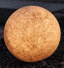 Garten Leuchtball Ø 500mm Sockel E27 terracotta mit Erdspieß _#3514