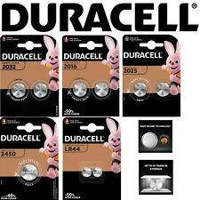 DURACELL CR2032 | 2025 | 2016 | 2450 | LR44 Battery Coin Cell Button 3v Lithium
