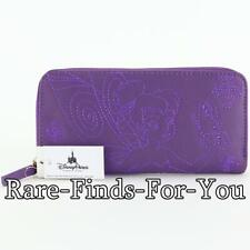 Disney Theme Parks Tinker Bell and Butterfly Purple Zip-Around Wallet (NEW/TAGS)