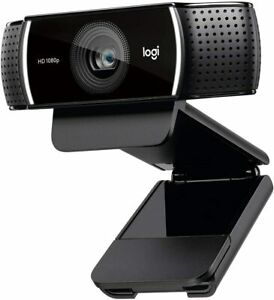Logitech C922 1080P for HD Video Streaming & Recording 720P at 60Fps with Tripod