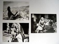 MARTINE CAROL, KARLHEINZ BÖHM * NÄCHTE AUF TAHITI - 3 Presse Photos 1958