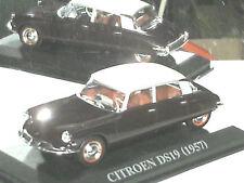 CITROEN DS 19 1957 BORDEAUX / ALTAYA 1/43