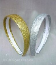 A Pair of Golden & Silvery Colored Hair Bands OS