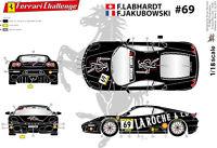 """[FFSMC Productions] Decals 1/18 Ferrari F-430 Challenge """"La Roche and Co"""""""