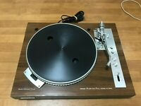Junk Pioneer XL-1550 Direct Drive Stereo Record Player QUARTZ PLL Only Rotation