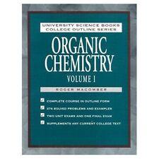 Organic Chemistry: v. 1, Very Good, Macomber, Roger S. Book
