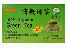 New 3 x Box (100 BAG) ORGANIC GREEN TEA USDA CERTIFIED Royal King