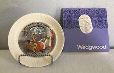 "Wedgwood Children's Story 1971 ""The Sandman"" Hans Christian Andersen Plate W/Box"