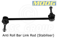 MOOG Front Axle left or right - Anti Roll Bar Link Rod (Stabiliser), NI-LS-8457