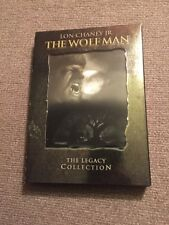 The Wolf Man The Legacy Collection (Dvd, 2004, 2-Disc Set)