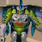 Hasbro Transformers Beast Wars mega Transmetal 2 Cybershark 95% COMPLETE USED