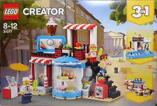 Lego Creator 31077 modular azúcar casa casa 3 en 1 piscina casa eckcafé nuevo