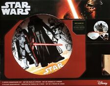 STAR WARS 3 teiliges Geschirr Set THE FORCE AWAKENS Teller Schale Tasse Disney