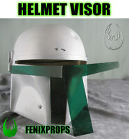 Boba Fett GREEN Helmet visor replacement STAR WARS prop