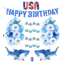 Baby Shark Party Supplies Decorations - 40 Pieces under the sea party decoration