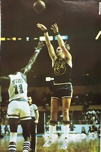 RICK BARRY 1974 SPORTS ILLUSTRATED POSTER