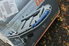Bargain Intex Excursion 5 Boat + Pump + Oars 5 person Dinghy opened never used