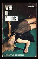 Harry Whittington, Web of Murder, Bridbooks, 1973