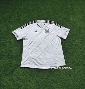 GERMANY NATIONAL TEAM 2012 2014 HOME FOOTBALL SOCCER SHIRT JERSEY TRIKOT MEN 2XL