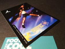 Nike Air Jordan VIII 8 RETRO CARD BLACK AQUA TONE CONCORD PURPLE RED TAKE FLIGHT