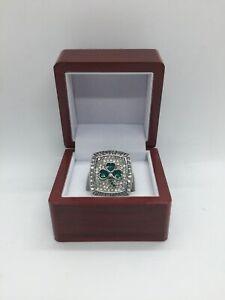 2008 Boston Celtics Kevin Garnett Championship Ring Set with Wooden Display Box