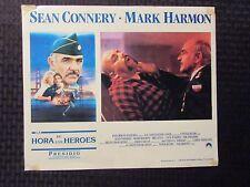 LA HORA DE LOS HEROES Lobby Card 13.5x11.25 VG- 3.5 LOT of 2
