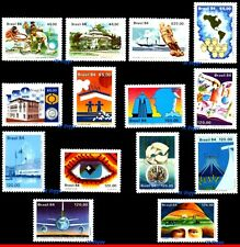 BRAZIL 1984 - LOT WITH 14 STAMPS OF THE YEAR - SCOTT VALUE $6.15, ALL MNH