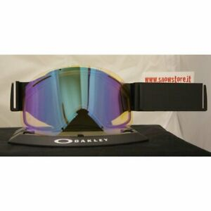 Oakley O2 XL Hi Yellow Iridium Lens New Snowboard Ski Mask