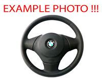 BMW 1 Series E81 E82 E87 E88 M-Sport Look NEW Black Leather Steering Wheel