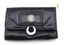 DKNY Donna Karan New York Black Leather Trifold Wallet
