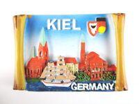 Kiel Schleswig Holstein Poly Magnet Germany Deutschland Souvenir,Neu