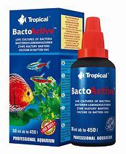 Live Bacteria Tropical Aquarium, Marine Fish Tank, Water Treatment, Conditioner