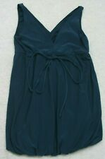 Unbranded Blue Dress Women's Size Small Sleeveless Polyester Spandex Lined Woman