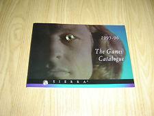 Seirra GIOCHI PC catalogo catalogo 1995 1996