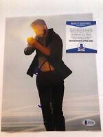John Bernthal 8x10 Photo Autograph auto Beckett BAS Shane WALKING DEAD Punisher